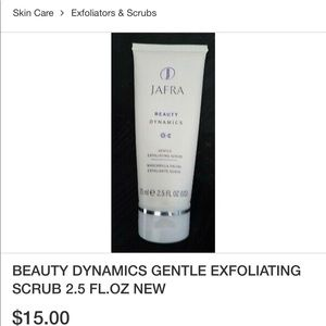 JAFRA Beauty Dynamics Gentle Exfoliating Scrub